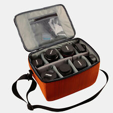 Large Waterproof DSLR Camera Shoulder Bag Handbag Padded Insert Pouch Case Cover