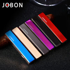 1PC Jobon USB rechargeable lighter windproof ultra-thin metal lighter cool gift