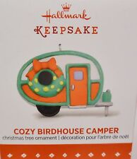 2015 HALLMARK Cozy Birdhouse Camper Miniature ornament NEW