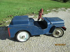 Structo Ride-On U.S. MAIL Carrier Jeep Toy Steel Vintage