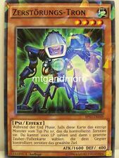 Yu-Gi-Oh - 1x Zerstörungs-Tron - Shatterfoil Rare - BP03 - Monster League