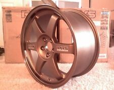 "BRONZE JDM 17"" VOLK RAYS TE37 Wheels Rims"