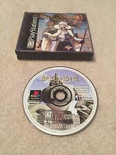 RARE Brigandine: The Legend of Forsena (Sony PlayStation 1, PS1) FREE SHIPPING!