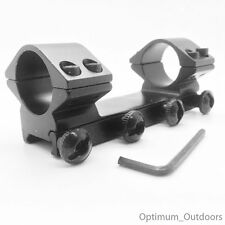 Low Profile QD 1 Piece Rifle Gun Scope Mounts fits 20mm Weaver Rail 25mm Rings