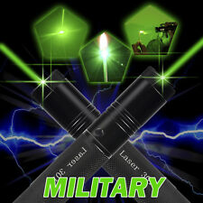 Military Powerful 1mW 532nm Green Laser Pointer Pen Beam Light Burning Lazer 301