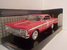 1964 Chevrolet Impala Red 1/24 Diecast Metal Model Car Motormax