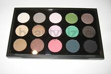 MAC 15 Pro Palette Eye Shadow Compact (NEW, See Colors)