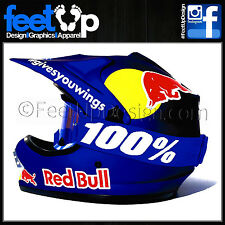 Dani Pedrosa Complete Decal - Stickers - Graphics kit for Arai MX - Road Helmet