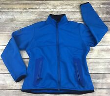 Arc'Teryx Polartec Soft Shell Jacket Women's L Blue Water Repellent Fleece