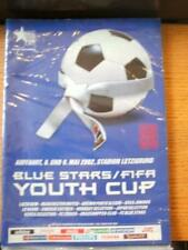 08/05/2002 At Blue Stars: FIFA Youth Cup Brochure - Including, Manchester United