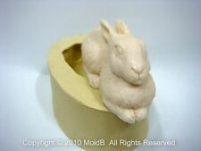 Silicone Mold Mould for Sugarcraft,Cup Cake, Clay - 3D rabbit