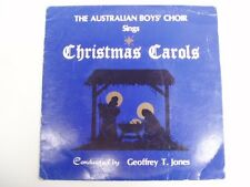 "AUSTRALIAN BOYS' CHOIR - SINGS CHRISTMAS CAROLS - RARE OZ 7"" 33"