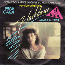 "Irene Cara – Flashdance... 7"" What A Feeling - France (VG+/EX)"