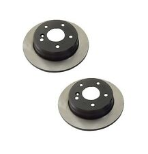 Mercedes W202 190D C220 Rear Set of 2 Disc Brake Rotors OPparts 405 33 157