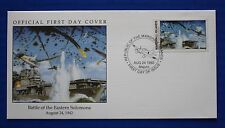 Marshall Islands (324) 1992 WWII: Battle of the Eastern Solomons Official FDC
