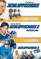 3 DVDs * SCHLAPPSCHUSS 1 - 3 # NEU OVP +
