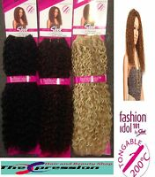 Sleek Fashion Idol 101 Nubian Weave Like Human Hair Extensions 18inch UK