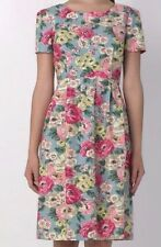Genuine CATH KIDSTON Hampstead Worth Floral Slub Size 10 Dress NEW + Tag £75