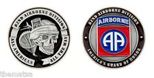 """ARMY 82ND AIRBORNE AMERICA'S GUARD OF HONOR  1.75"""" CHALLENGE COIN"""