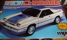 MPC DODGE OMNI SHELBY CHARGER 1/25 Model Car Mountain KIT 1-0718 2N1 OPEN