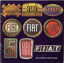 Fiat 1975-76 UK Market Sales Brochure 126 133 127 128 131 132 130