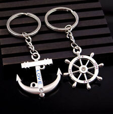 MonkeyEAT Sailor Anchor Love Valentine's Day Couple's Keychain