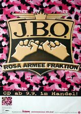 J.B.O. - JBO - 2002 - Tourplakat - Rosa Armee Fraktion - Tourposter