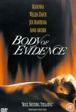 Body Of Evidence DVD Madonna Willem New and Sealed Original UK Release Region 2