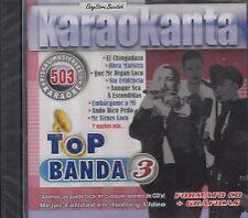 BANDA JEREZ BANDA MS LOS RECODITOS EL JAGUAR Top Banda 3 Karaoke New Sealed