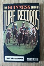 HORSE RACING THE GUINNESS BOOK OF TURF RECORDS 1974 BY GEORGE FISHER NICE COPY