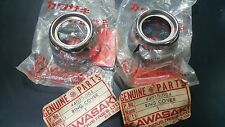 Kawasaki  G3SS G3TR KH100 front fork shock covers trim rings Genuine NOS 1PAIR