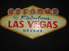 NEW METAL SIGN WELCOME LAS VEGAS NEVADA casino retro vintage style art shop home