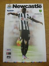 23/09/2012 Newcastle United v Norwich City [Miss Corte En Impresoras, superior falta, e