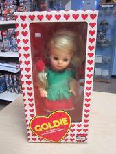 AIRFIX PLASTY Puppe Goldie mit Schlafaugen ca. 32 cm 70er 80er Jahre OVP #2