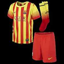 Official Nike Barcelona Little Boy's Away Mini Full Kit 2013-14, Age: 3-4 Years