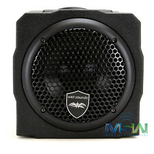 WET SOUNDS STEALTH-AS-6 250W ACTIVE MARINE SUBWOOFER ENCLOSURE FOR BOATS & ATVS