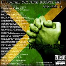 DJ FUNNEL  REGGAE CULTURE GOSPEL MIX CD VOLUME 2