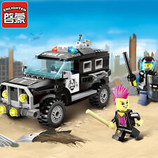 City Series:Anti explosion special police car  Police car Block 213pcs fit lego