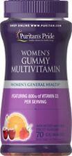 WOMEN'S GUMMY MULTIVITAMIN VITAMINS - DIETARY SUPPLEMENT 70 GUMMIES - 1 BOTTLE