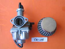 Carburetor Assembly w/ Air Filter 38mm for HONDA CG125 XR100  XR 100 CB100