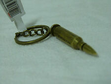 BULLET KEY RING MILITARY ARMY SAS SPECIAL FORCES GADGET KEY HOLDER GOLD AK47