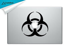 Biohazard Sign Banksy Mac Decal Laptop Sticker Mac Decals for 13 15 17 inch