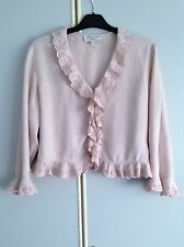 Ladies Patsy Sneddon For Phase Eight Linen Jacket Size 16