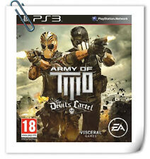 PS3 Army of Two The Devil's Cartel Sony Playstation EA Action Games