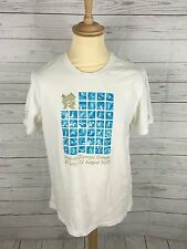 Mens Adidas London 2012 T-Shirt - Large - White - Great Condition