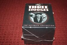 The Three Stooges: The Ultimate Collection (DVD, 2012, 20-Disc Set) *Brand New*