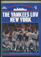 New York Yankees 1979  Official Yearbook  Yankees Luv New York  MBX21