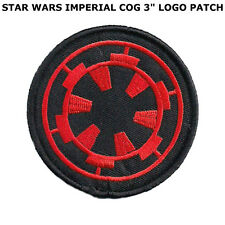 Star Wars Imperial Red/Black Embroidered Iron On/Sew On Patch US SELLER