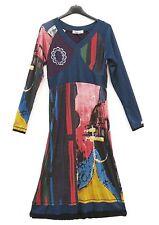 NEU Jaguale Stiefel Kleid Dress Robe Vestido S 36 38 Lagenlook