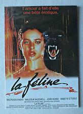 CP DU FILM - LA FELINE AVEC N KINSKI - NUGERON E125 *